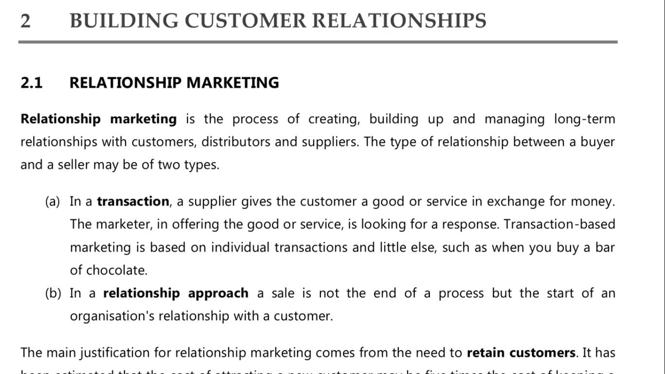 ch3 relationship marketing